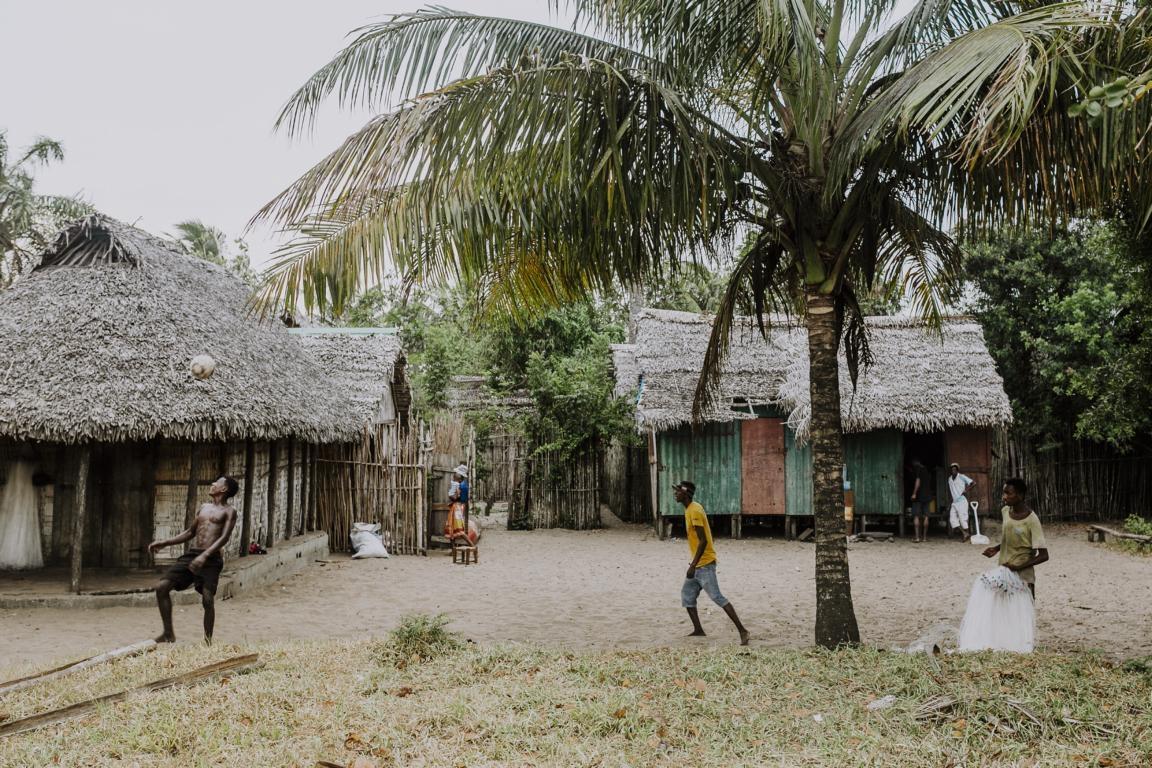 Dörfer im Isalo-Gebirge bei der Rundreise durch Madagaskar