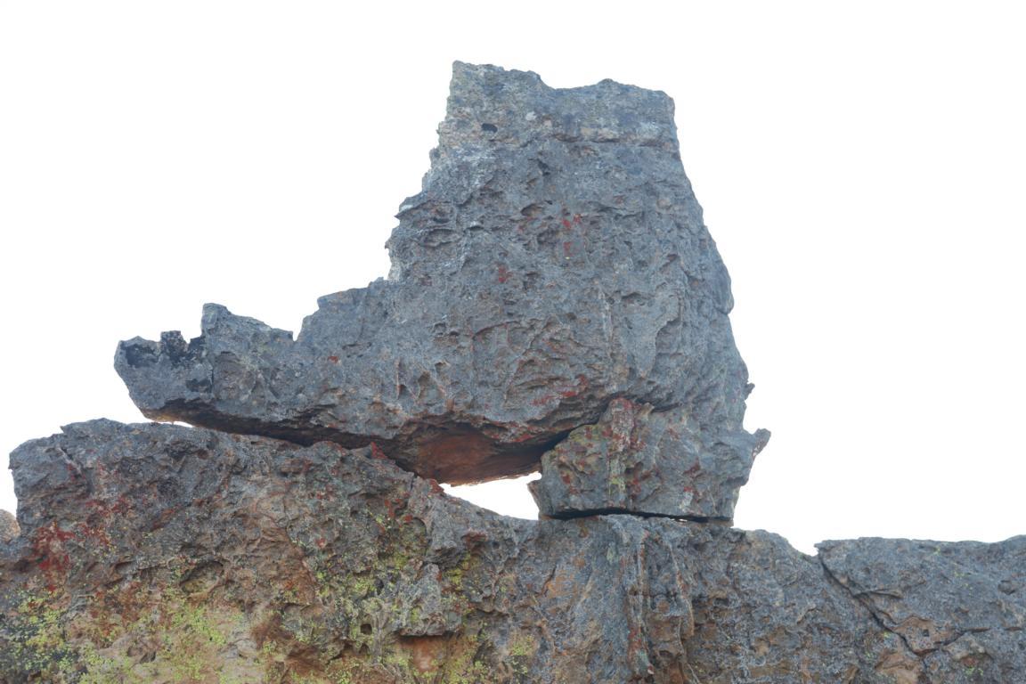 Imposanter Felsen im Isalo-Gebirge - Madagaskar auf einen Blick