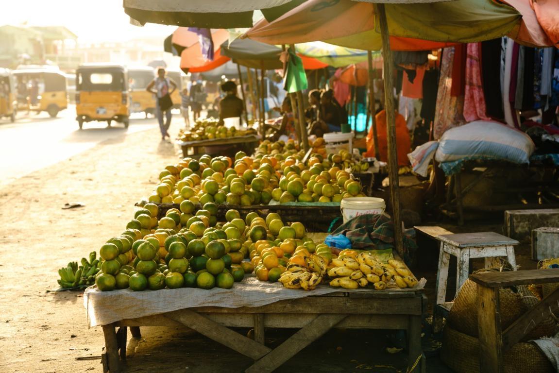 Der Markt von Sambava auf der Tour durch Madagaskars Primärwälder